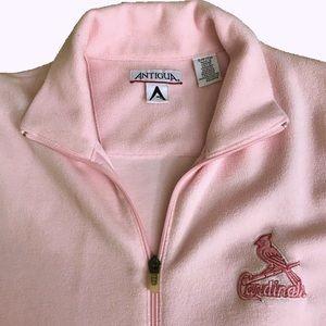 St. Louis Cardinals Fleece Zip-up Jacket Antigua S